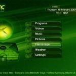 XBMC su XBOX Classic